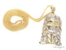 10k Yellow Gold Jesus Chain 44172 Gold