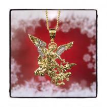 10k Yellow Gold Angel Cuban Chain 44185 Gold