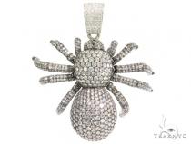 King Spider Diamond Pendant 44379 Metal