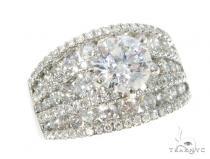 Snow White Prong Diamond Engagement Ring 44571 Engagement