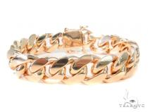 14k Yellow Gold Miami Cuban Bracelet 44567 Gold
