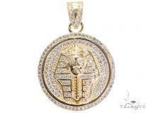 Pharaoh Silver Pendant 44659 Metal