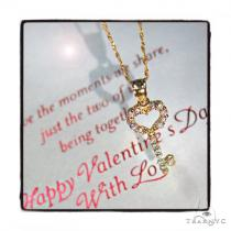 Heart Key Gold Necklace 44800 Gold