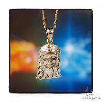 Jesus Gold Pendant Chain Set 44806 Gold