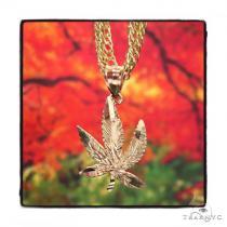 Maple Gold Pendant Chain Set 44807 Gold