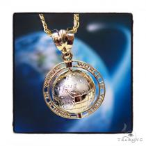 Universe Gold Pendant Chain Set 44827 Metal