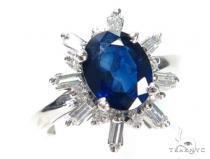 Prong Diamond Sapphire Ring 44844 Anniversary/Fashion