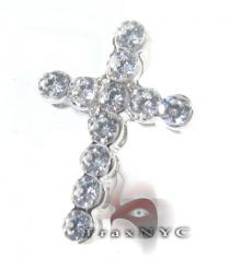 Grand Bezel Cross Diamond Cross Pendants