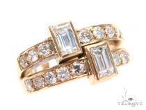 Bezel Diamond Engagement Ring 44858 Engagement