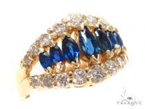 Prong Diamond Sapphire Anniversary/Fashion Ring 44864 Anniversary/Fashion