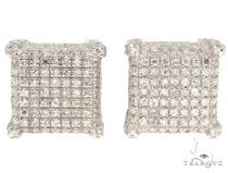 Prong Diamond Earrings 44966 Stone