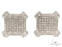Prong Diamond Earrings 44967 Stone