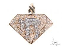 Chai Diamond Pendant 44875 Metal