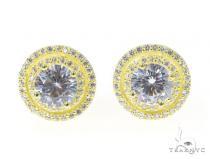 Silver Earrings 45034 Metal