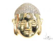 Buddha Silver Pendant 45088 Metal