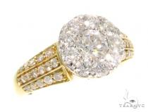 Prong Diamond Engagement Ring 45096 Engagement