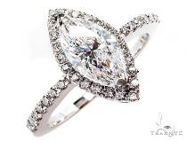Mistery Marquise Engagement Ring 45261 Engagement