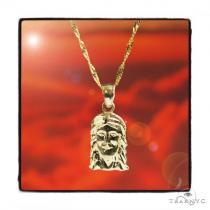 Mini Jesus Gold Necklace 44815 Gold