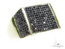 Prong Black Diamond Ring 45270 Stone