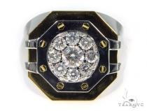 Prong Diamond Ring 45378 Men Specials