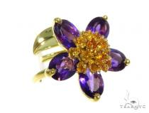 Purple Amaryllis Anniversary/Fashion Diamond Ring 45415 Anniversary/Fashion