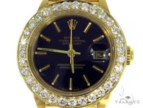 Diamond Rolex Datejust Lady Yellow Gold Watch 179178 45409 ロレックス レディース