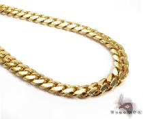 Miami Cuban Chain 18k Yellow Gold 1097.46 Grams 28 Inches 20.5mm 46398 Gold