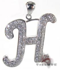 Frozen H Pendant Diamond Pendants