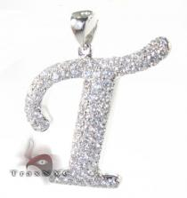 Frozen T Pendant Diamond Pendants