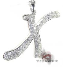 Frozen X Pendant Diamond Pendants
