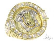Medusa Gold Ring 45458 Metal