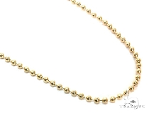 Mens 10k Solid Yellow Gold Ball Chain 24 Inches 3mm 16.18 Grams 46847 Gold