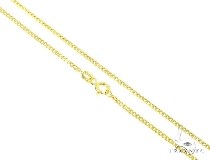 Mens 10k Hollow Yellow Gold Cuban/curb Chain 30 Inches 2mm 2.23 Grams 47223 Gold