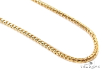 Mens 14k Solid Yellow Gold Franco Chain 32 Inches 2mm 27.80 Grams 47888 Gold