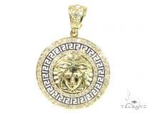 Medusa Gold Pendant 45480 Metal