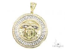 Medusa Gold Pendant 45481 Metal