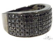 Black Diamond Silver Ring 45530 Metal