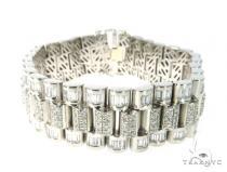 Bullet Diamond Bracelet 49121 メンズ ダイヤモンド ブレスレット