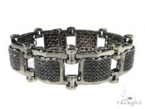 Prong Black Diamond Bracelet 49118 Diamond