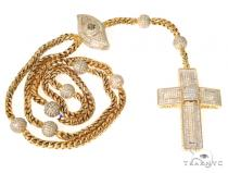 Invisible Diamond Cross Chain 49109 Diamond