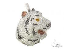 Jaguar Diamond Pendant 49149 Metal