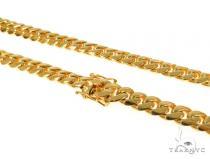 Miami Cuban Silver Chain 32 Inches 11mm 246 Grams 49172 Silver