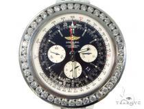 Channel Diamond Breitling Navitimer Watch 49169 Breitling