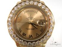 Pave Diamond Rolex Oyster Perpetual Day-Date Watch 49178