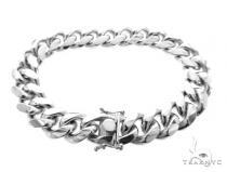 Miami Cuban Silver Bracelet 49191 シルバー ブレスレット