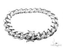 Miami Cuban Silver Bracelet 49189 シルバー ブレスレット