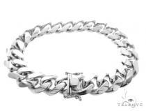 Miami Cuban Silver Bracelet 49188 シルバー ブレスレット