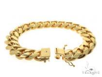 Miami Cuban Silver Bracelet 49185 シルバー ブレスレット