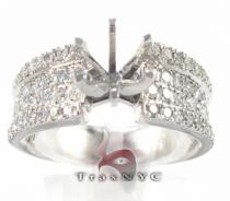 Semi Mount Aura Ring Engagement