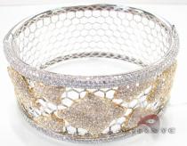 Fire and Ice Cage Bracelet Diamond